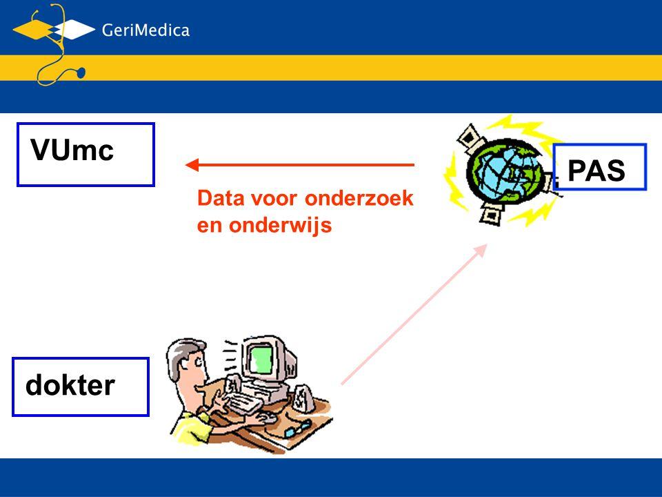 PAS VUmc dokter Data voor onderzoek en onderwijs