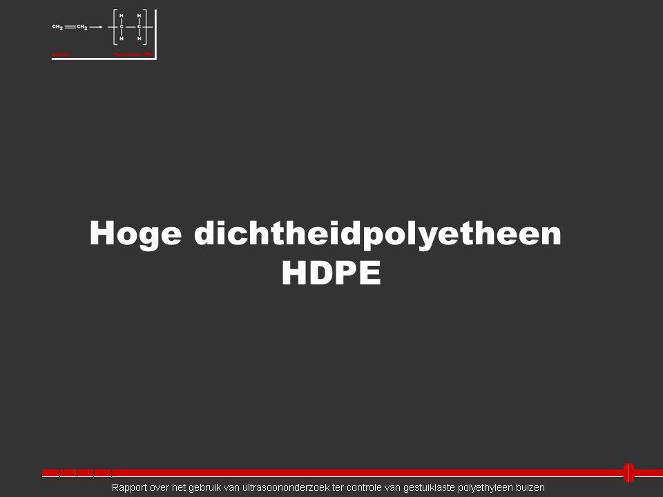 Hoge dichtheidpolyetheen HDPE