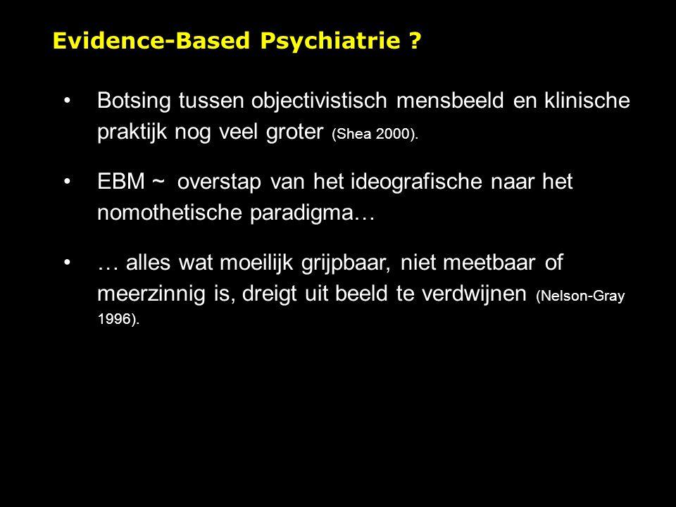 Evidence-Based Psychiatrie .