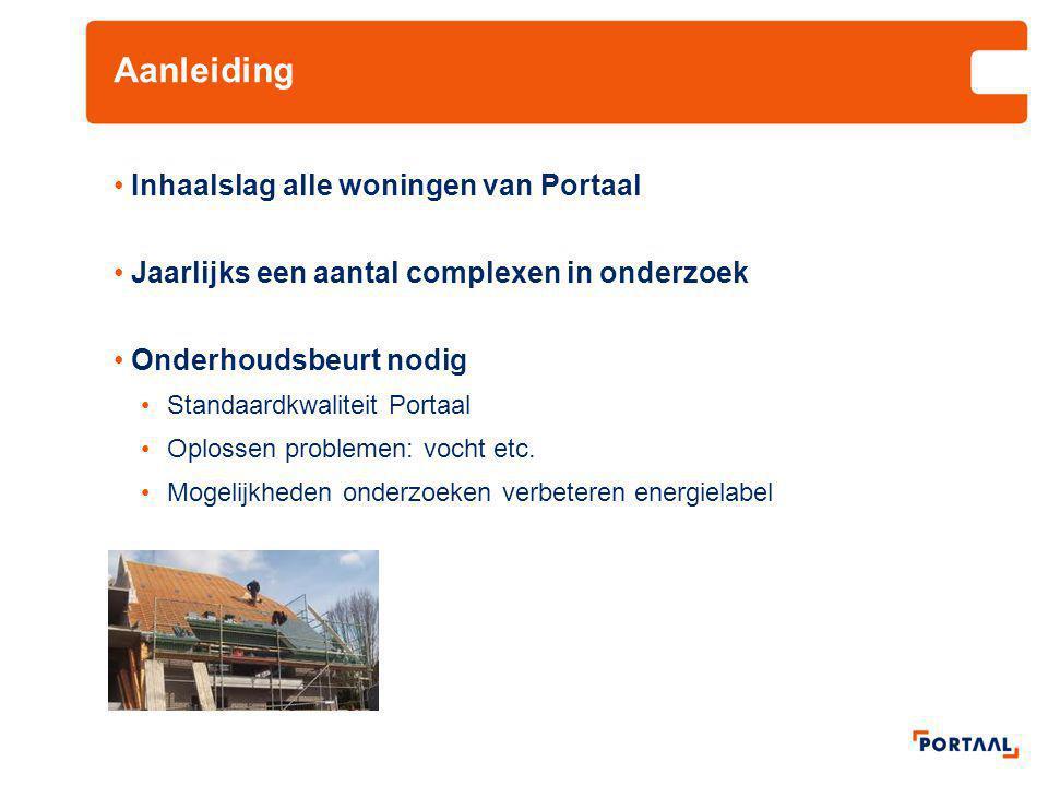Randvoorwaarden Financieel en technisch haalbaar plan Algemeen beleid in Leiden, akkoord bewoners Kwaliteit van de woningen voor langere termijn Voldoen aan vraag van (toekomstige) huurders