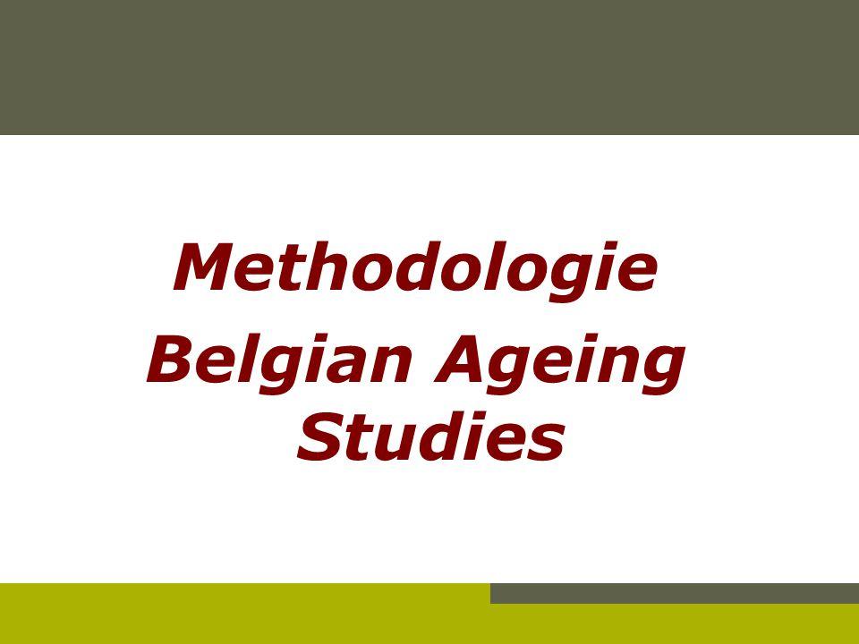 Methodologie Belgian Ageing Studies