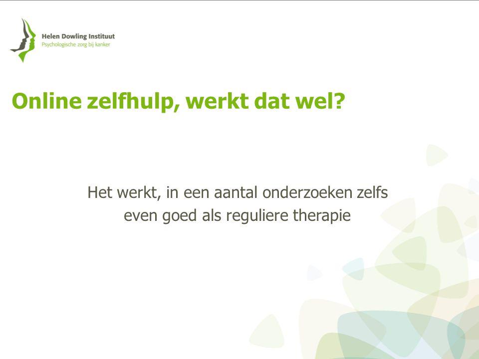 Riper, H., van Ballegooijen, W., Kooistra, L, de Wit, J., & Donker, T.