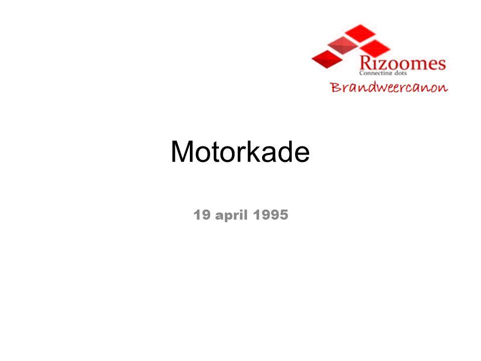 Motorkade 19 april 1995