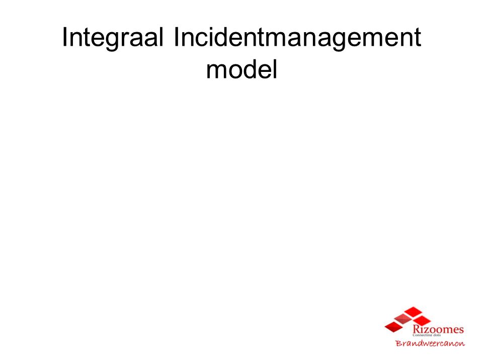 Integraal Incidentmanagement model