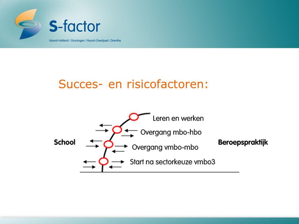 Succes- en risicofactoren: