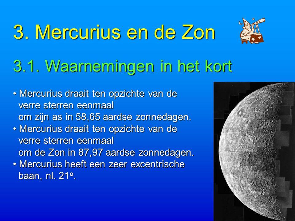 3.Mercurius en de Zon 3.1.