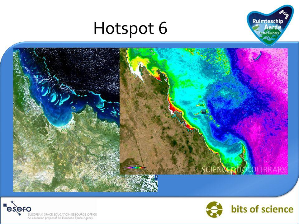 Vraag HOTSPOT KORAALRIFFEN: Klimatologen stellen dat de uitstoot van CO2 en andere broeikasgassen leidt tot een mondiale klimaatverandering.