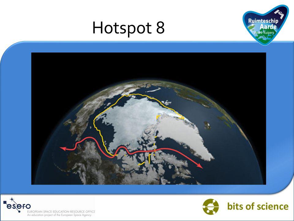 Vraag HOTSPOT NOORDPOOL: Klimatologen zijn het er over eens dat de smelt van het zee-ijs in de Noordelijke IJszee een gevolg is van de mondiale opwarming.
