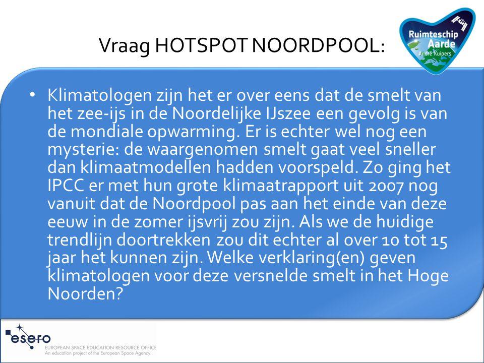 Toelichting HOTSPOT NOORDPOOL: