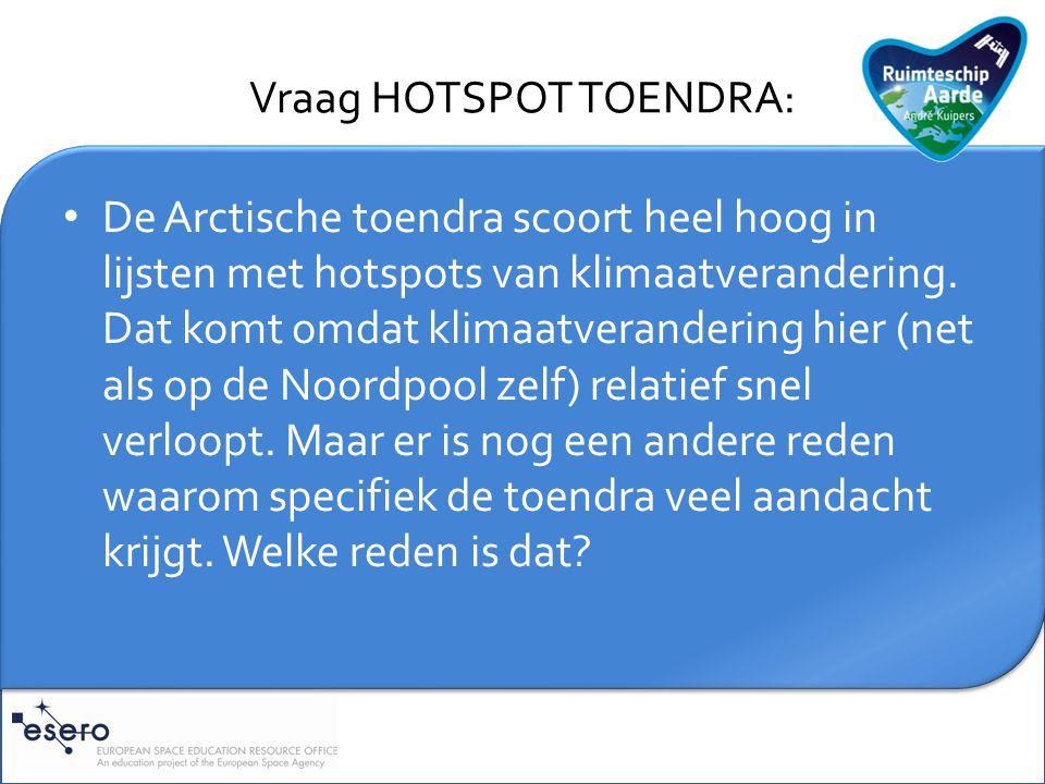 Toelichting HOTSPOT TOENDRA: