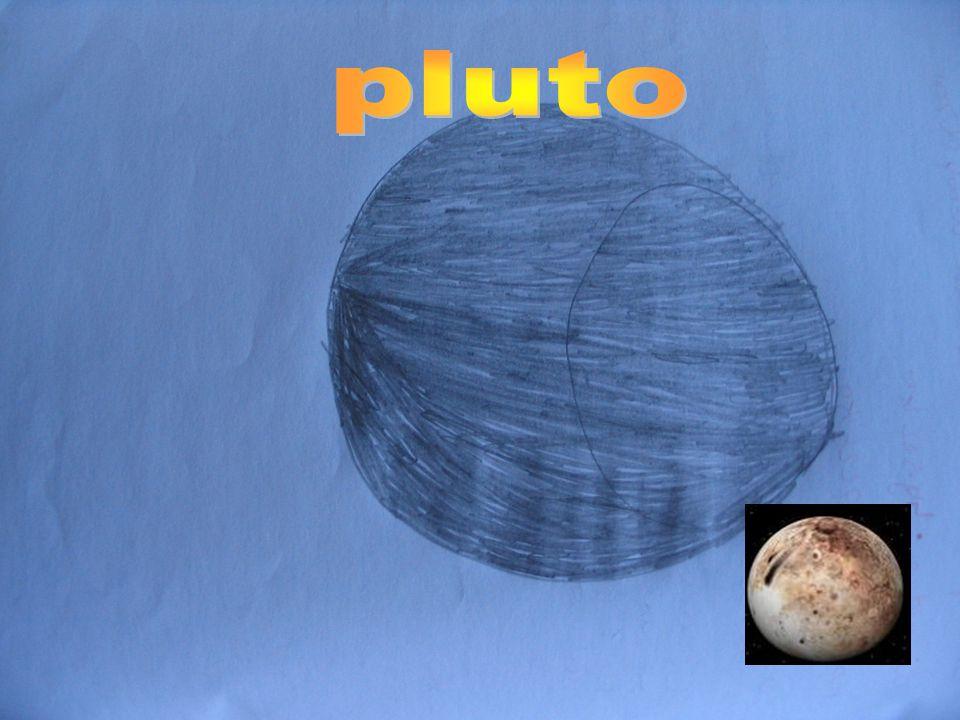 Neptunus lijkt op zijn broertje (Uranus). Ik vind neptunus de mooiste pla- neet hij heeft een mooie uitstra- ling en hij is lekker groot niet zo groot