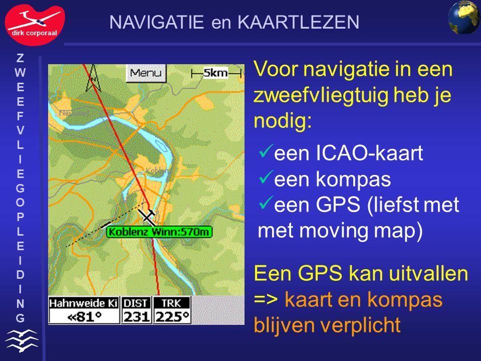 ZWEEFVLIEGOPLEIDINGZWEEFVLIEGOPLEIDING Die kaart is conform (hoekgetrouw) en de meridianen zijn als rechte lijnen weergegeven (ICAO-eis).