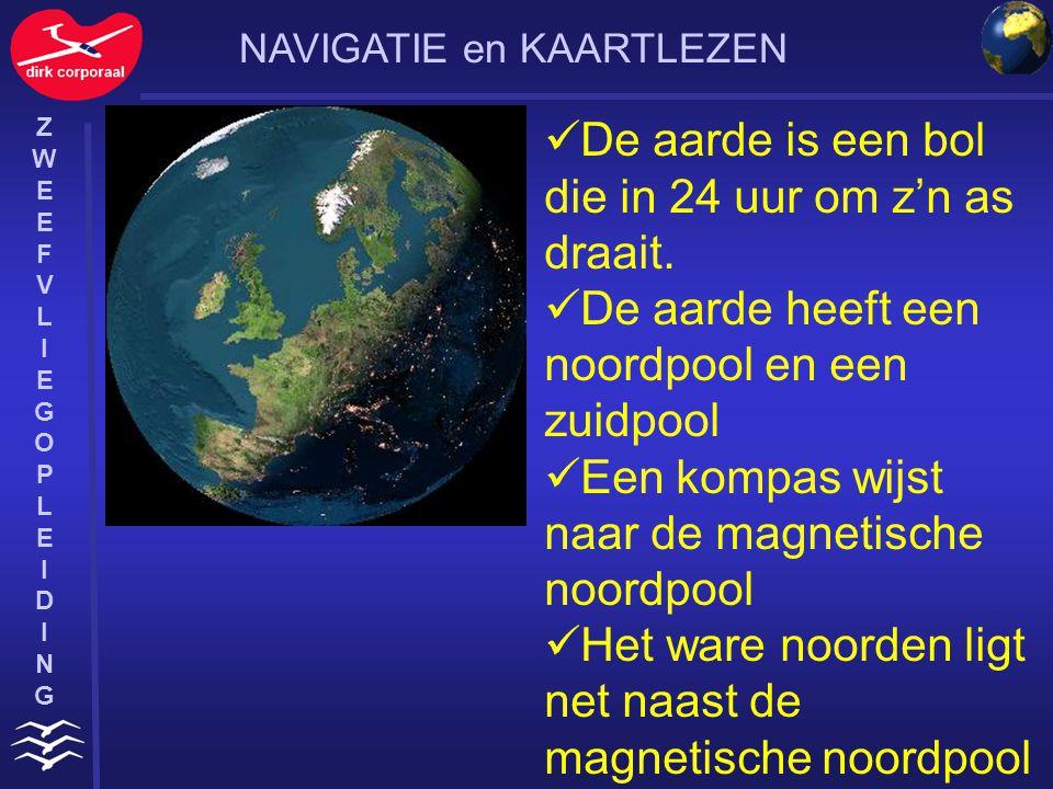 ZWEEFVLIEGOPLEIDINGZWEEFVLIEGOPLEIDING Om een plaats op aarde aan te geven is de aarde ingedeeld in noord-zuid- lijnen (meridianen) en oost- west-lijnen (parellellen).