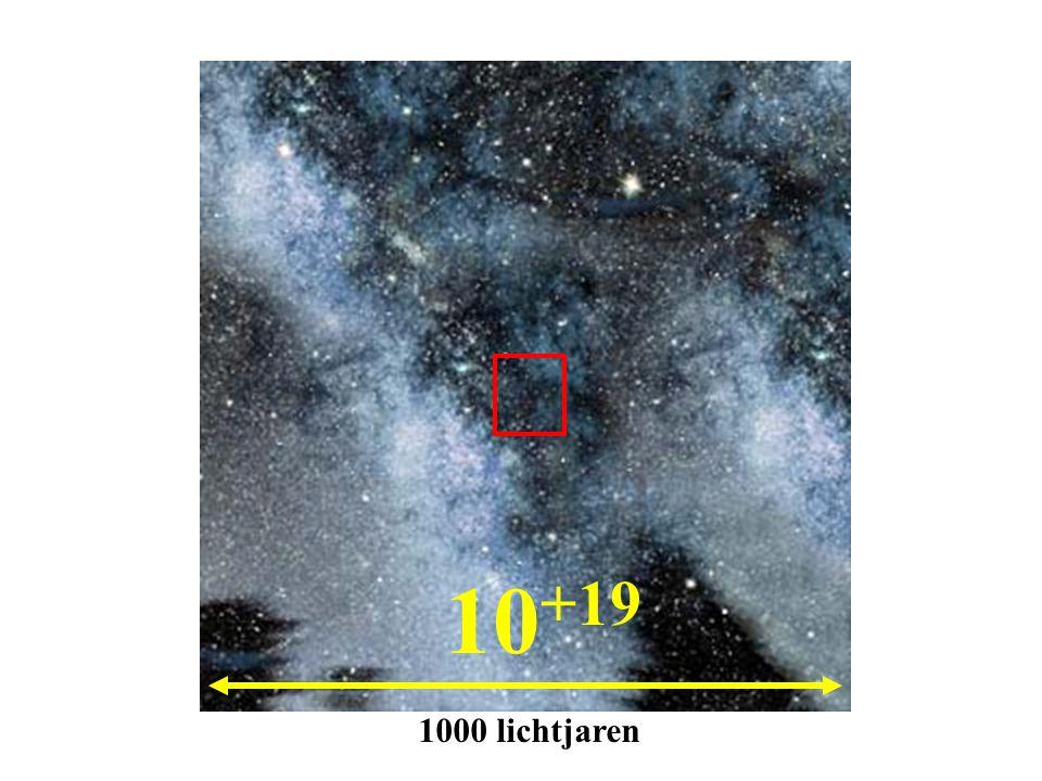 10 +19 1000 lichtjaren