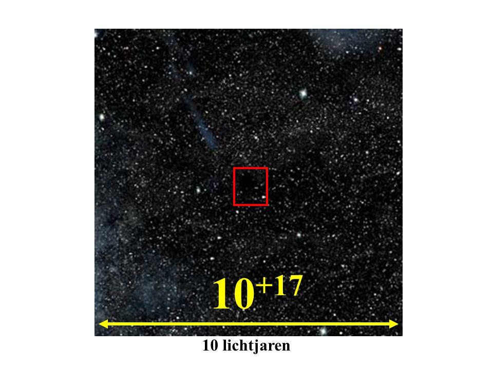 10 +17 10 lichtjaren