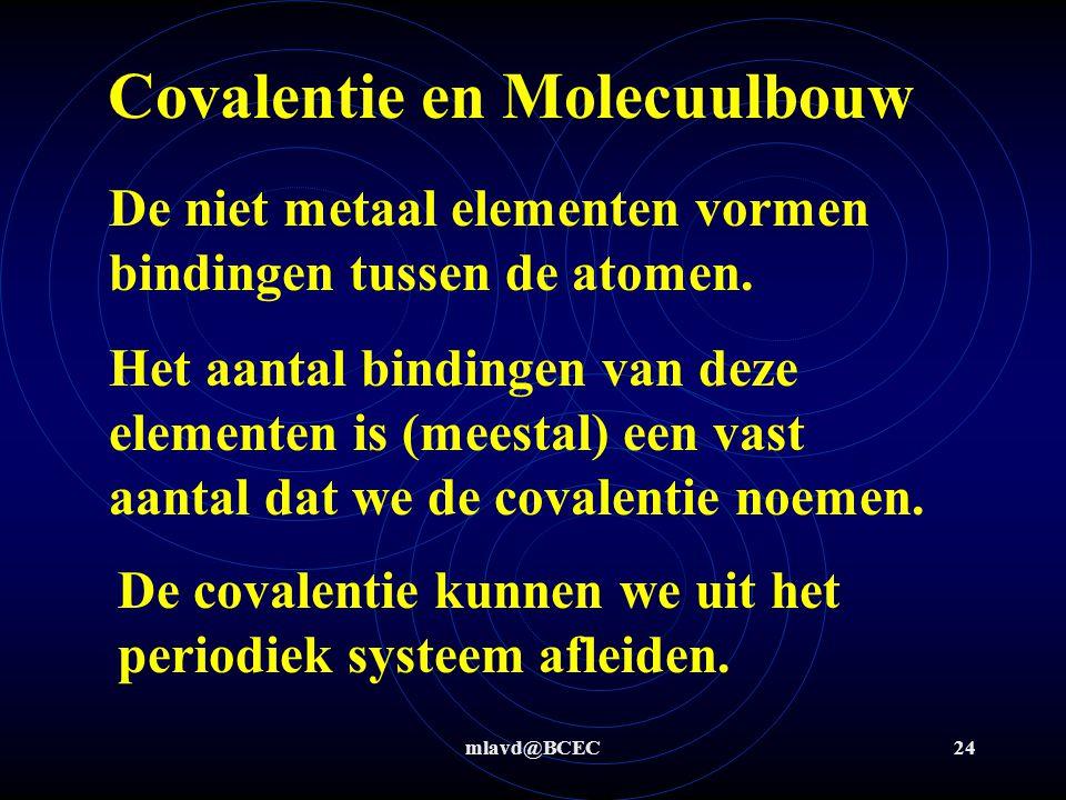 mlavd@BCEC23 Molecuulbouw
