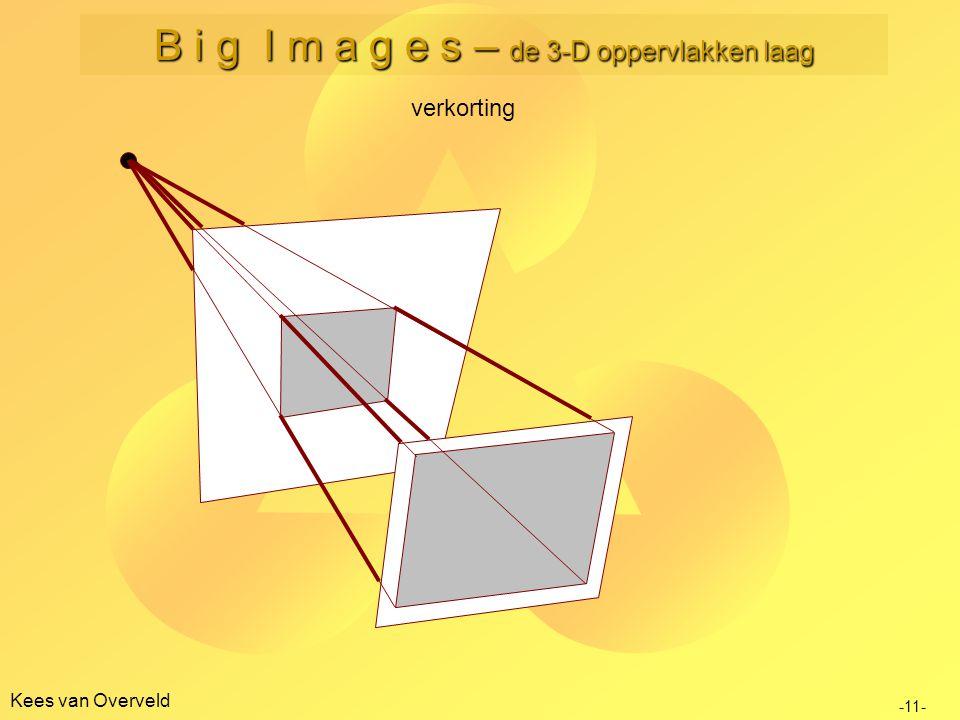 Kees van Overveld verkorting -11- B i g I m a g e s – de 3-D oppervlakken laag