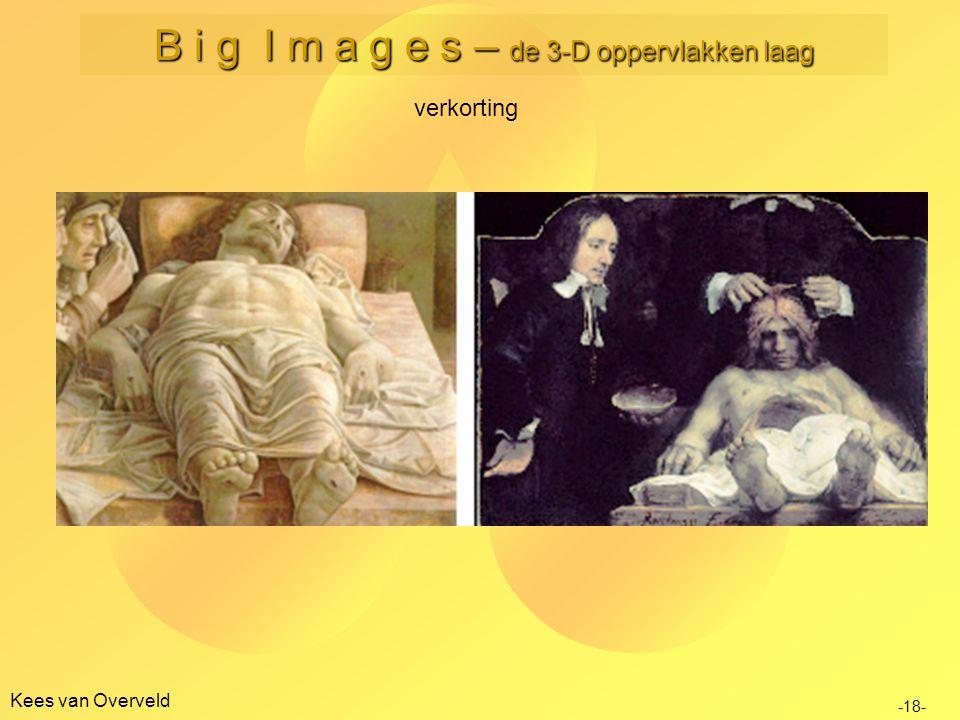 Kees van Overveld verkorting -18- B i g I m a g e s – de 3-D oppervlakken laag