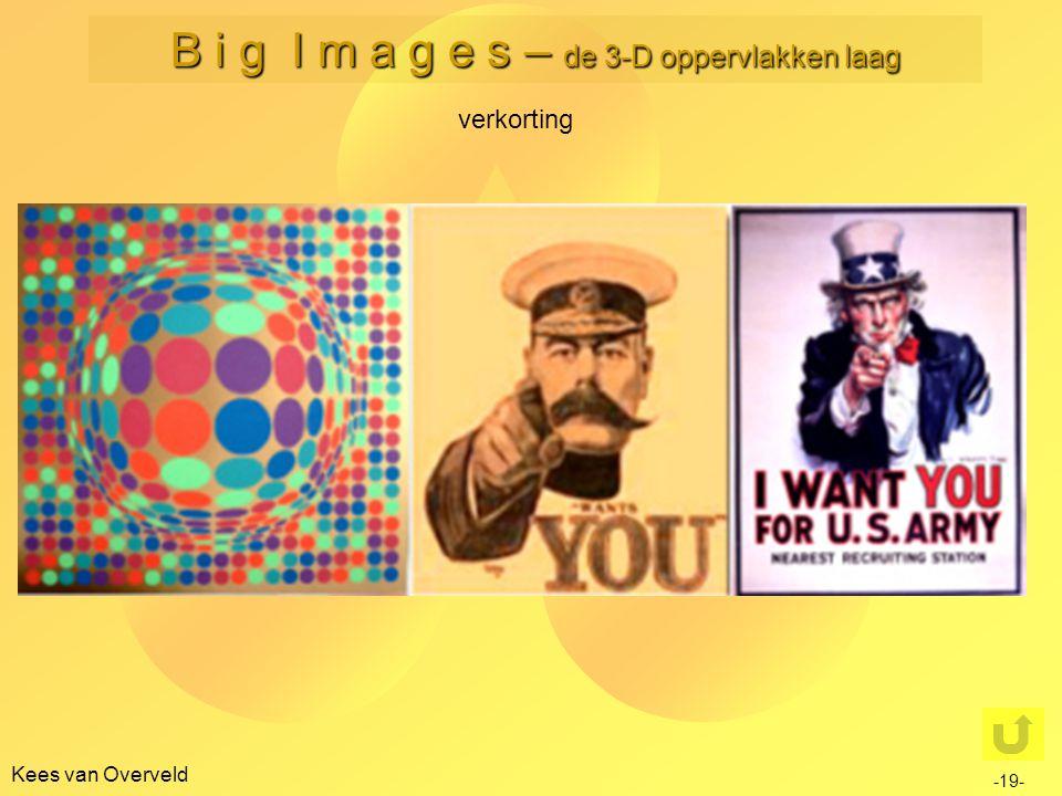 Kees van Overveld verkorting -19- B i g I m a g e s – de 3-D oppervlakken laag