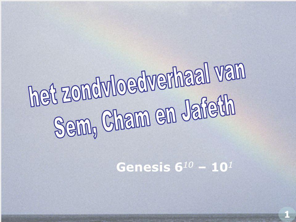 Genesis 6 10 – 10 1 1