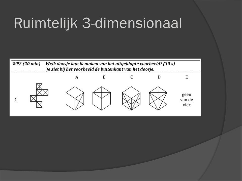 Ruimtelijk 3-dimensionaal