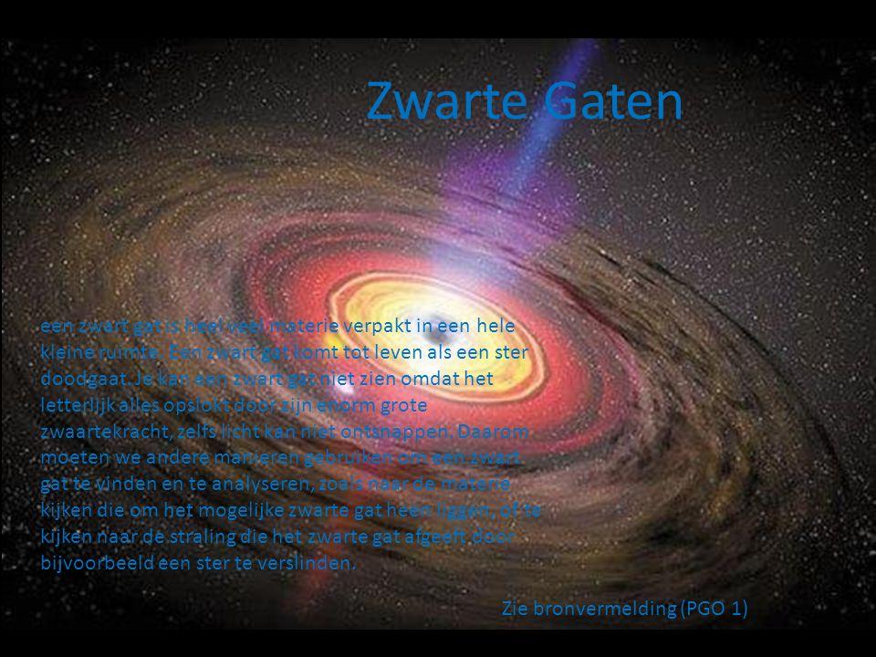 Energie van een zwart gat Op 23 oktober, 2001 hebben wetenschappers voor het eerst energie van een zwart gat uit zien gaan.