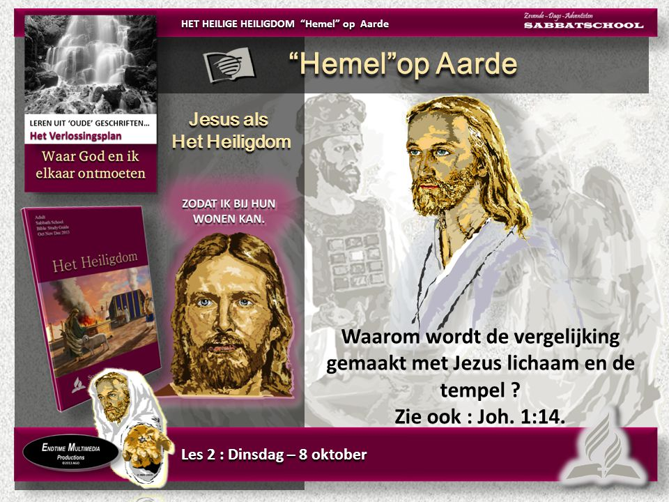 Jesus als Het Heiligdom Jesus als Het Heiligdom Waarom wordt de vergelijking gemaakt met Jezus lichaam en de tempel .