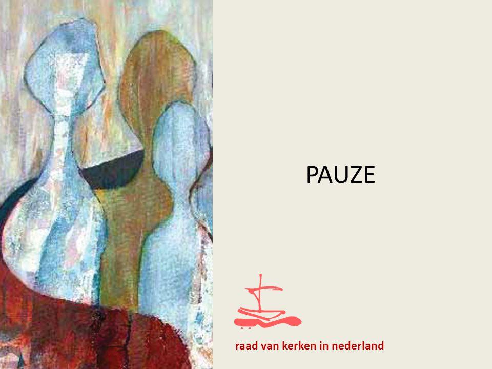PAUZE raad van kerken in nederland