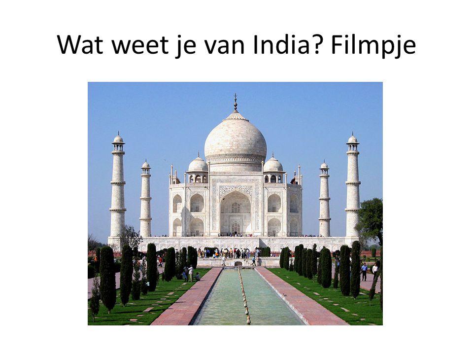 Wat weet je van India? Filmpje