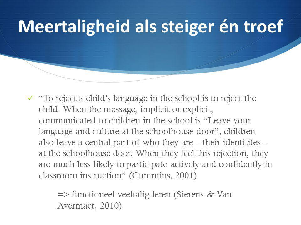 """To reject a child's language in the school is to reject the child. When the message, implicit or explicit, communicated to children in the school is"