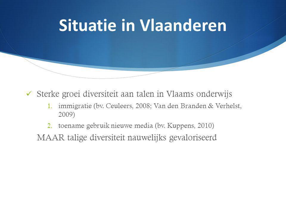 Sterke groei diversiteit aan talen in Vlaams onderwijs 1.