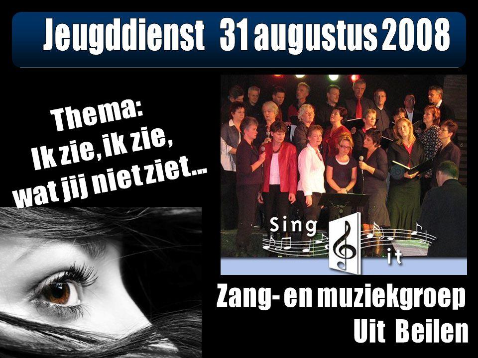 Samen zingen: Psalm 67, vers 1 en 2 De volken zullen U belijden, o God, U loven al te zaam.