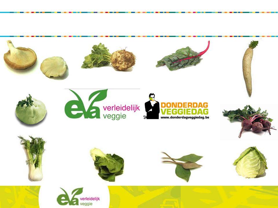 EVA vzw Missie EVA informeert het brede publiek over alle aspecten van een gezonde en kwalitatieve vegetarische voeding Visie EVA streeft naar een samenleving waarin vegetarisme een vertrouwd begrip is, en waarin consumenten op de hoogte zijn van wat vegetarische voeding inhoudt.