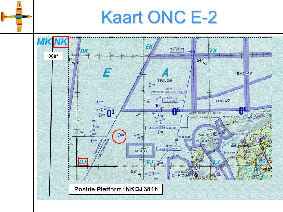 Kaart ONC E-2 000º NKMK Positie Platform: NKDJ3816