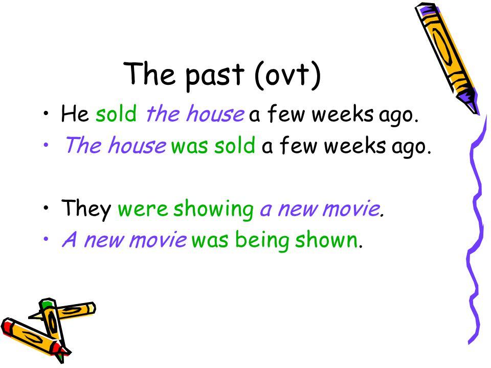 De mogelijkheden van the past was were+ voltooid deelwoord was were + being + volt. dw.