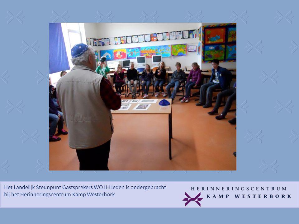 Het Landelijk Steunpunt Gastsprekers WO II-Heden is ondergebracht bij het Herinneringscentrum Kamp Westerbork 'Thank you very much for your story.