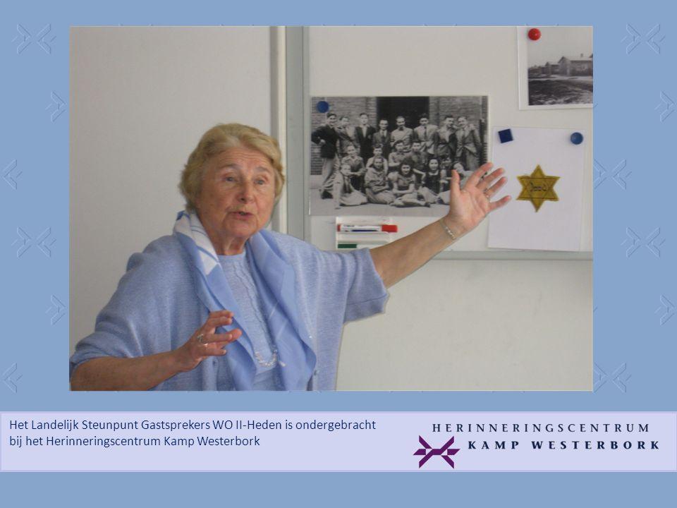 Het Landelijk Steunpunt Gastsprekers WO II-Heden is ondergebracht bij het Herinneringscentrum Kamp Westerbork Did you meet Hitler.