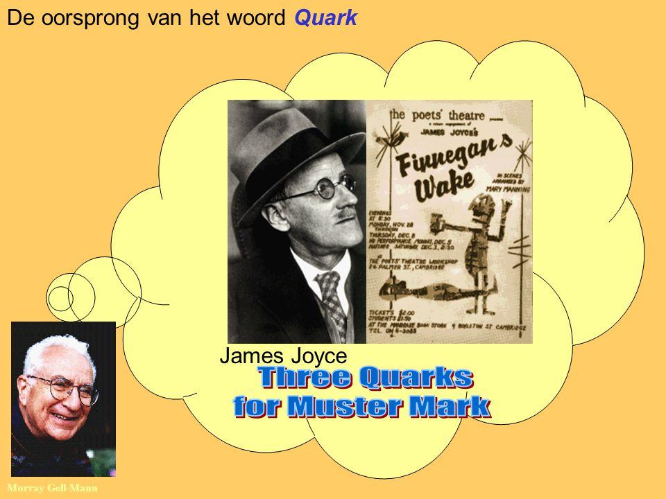 James Joyce Murray Gell-Mann De oorsprong van het woord Quark