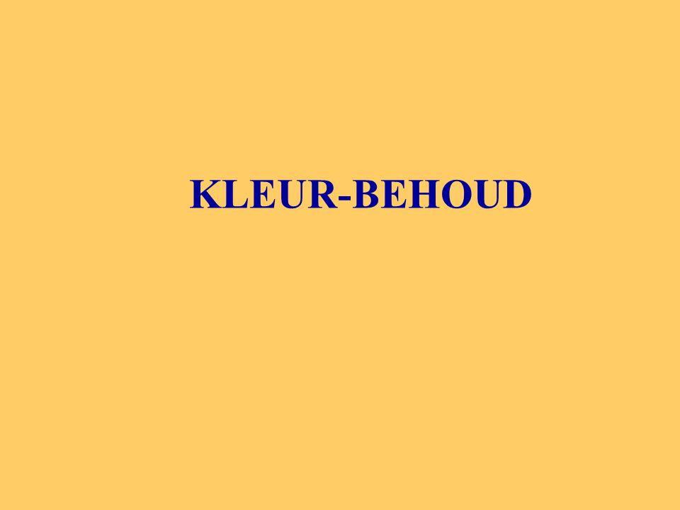 KLEUR-BEHOUD
