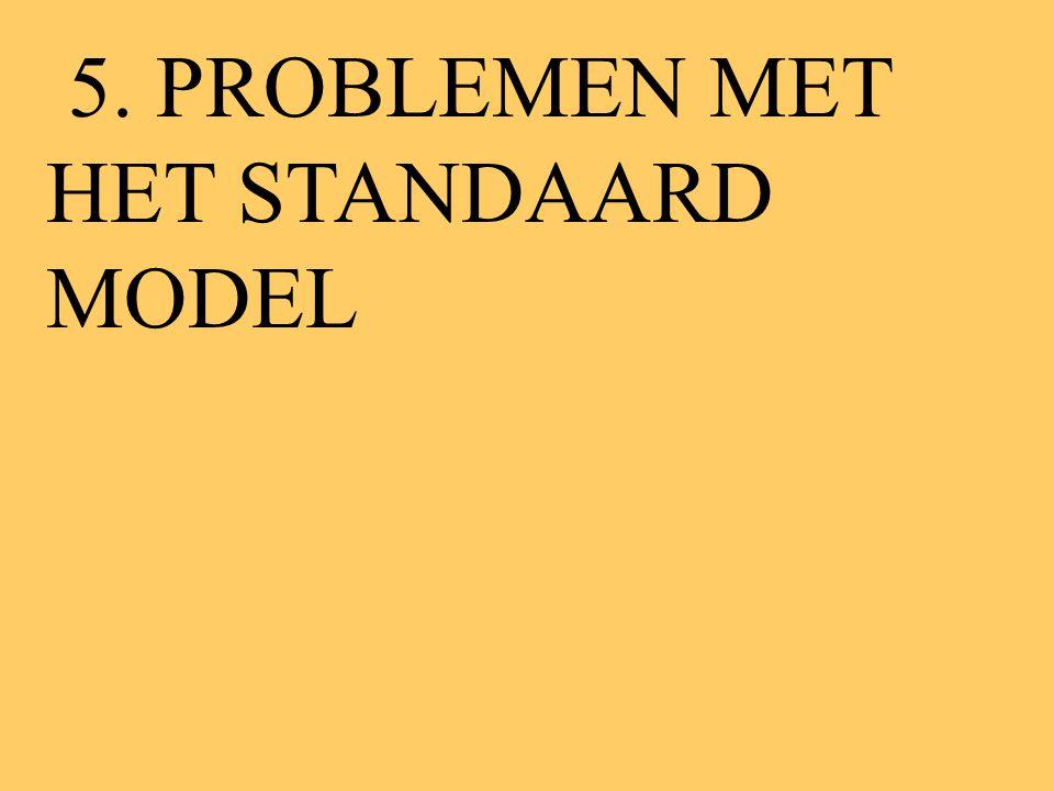 5. PROBLEMEN MET HET STANDAARD MODEL