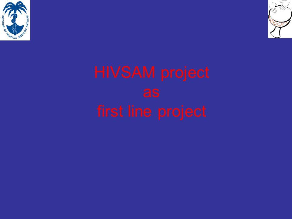 Organiseren van de gemeenschap, voor: informatiedoorstroming over de ziekte en haar preventie Promotie van veilige seks en condoom gebruik Promotie van HIV test Cultureel aangepaste Individuele en groepscounseling voor HIV patiënten, vnl.
