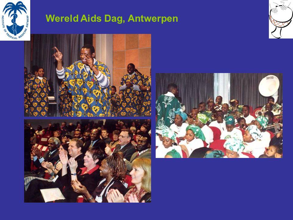 Wereld Aids Dag, Antwerpen