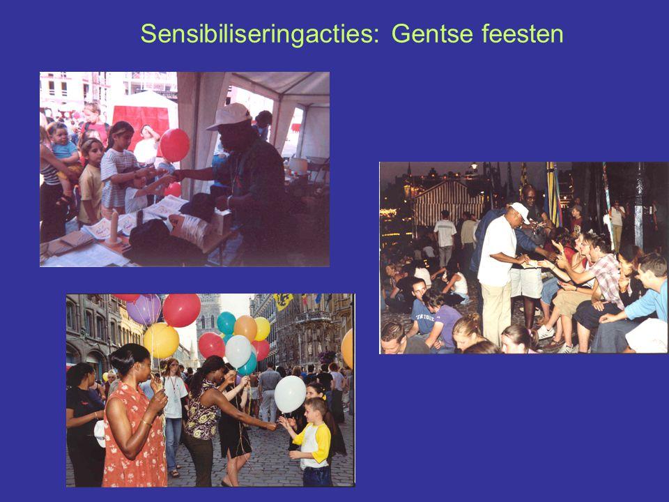 Sensibiliseringacties: Gentse feesten