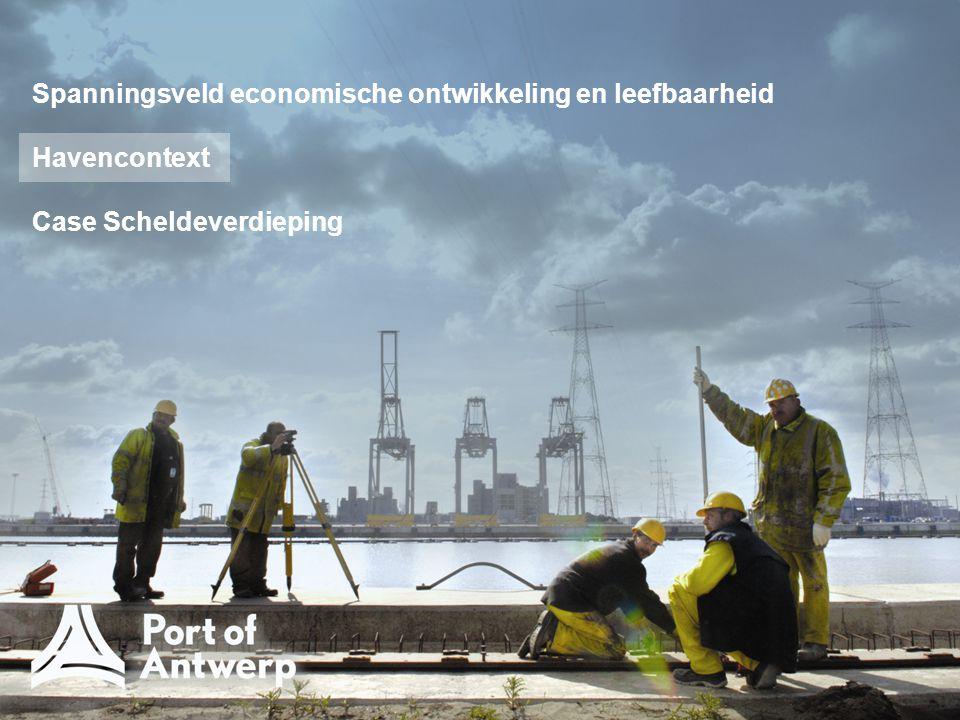 Havencontext regelgevend kader vaak vanuit Europa  implementatie lidstaten (1) Karakteristieken regelgeving anders, vb.