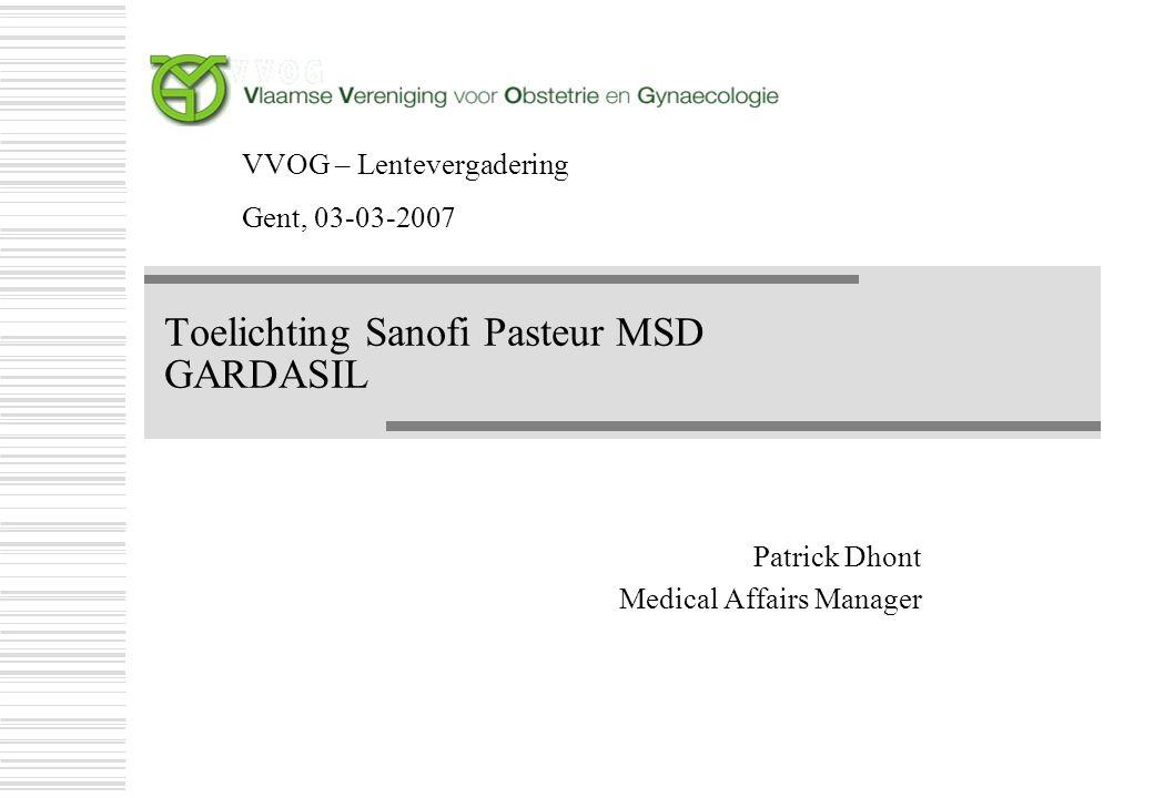 Wat nieuws te melden over Gardasil ® .