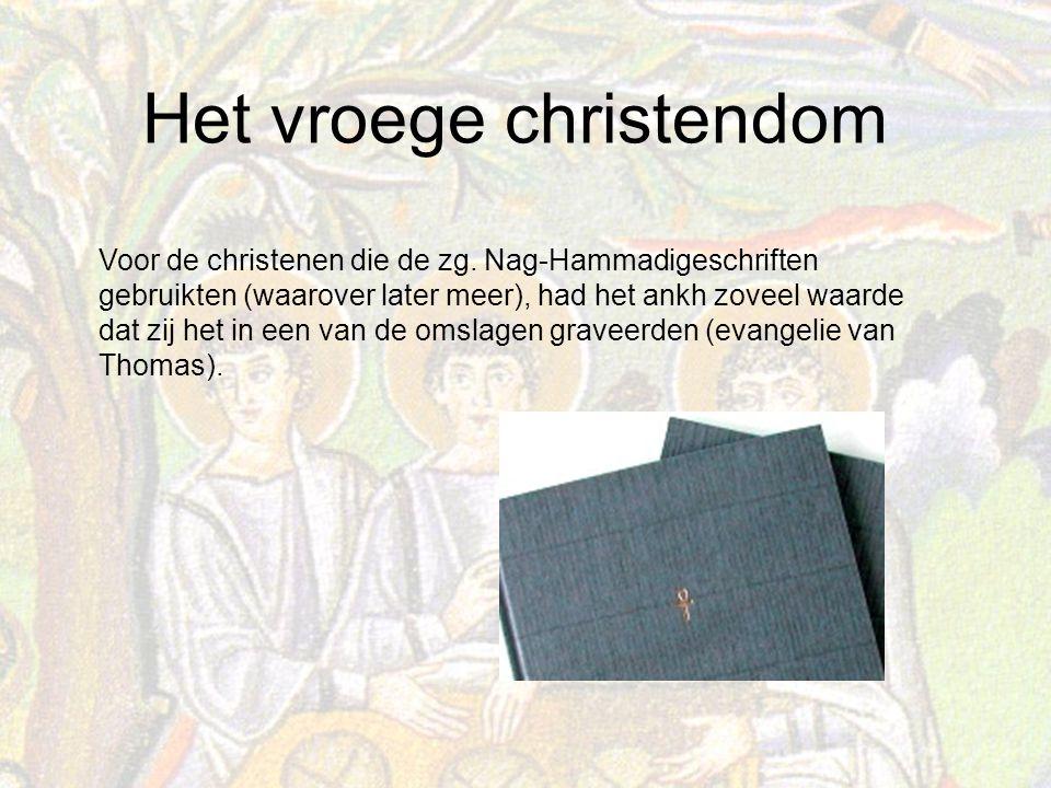 Het vroege christendom Voor de christenen die de zg.
