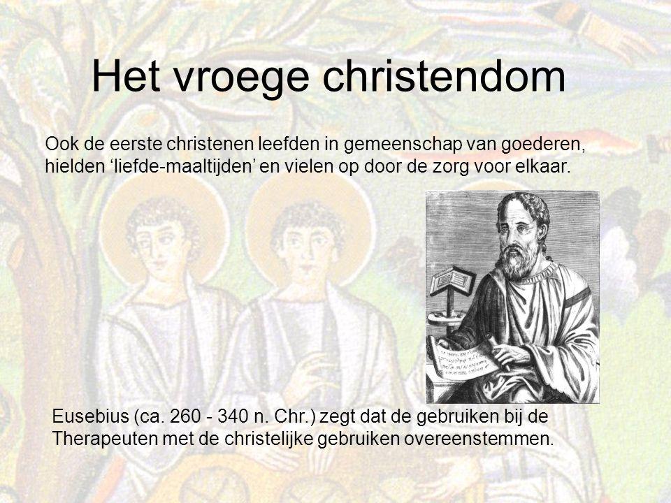 Het vroege christendom Eusebius (ca.260 - 340 n.