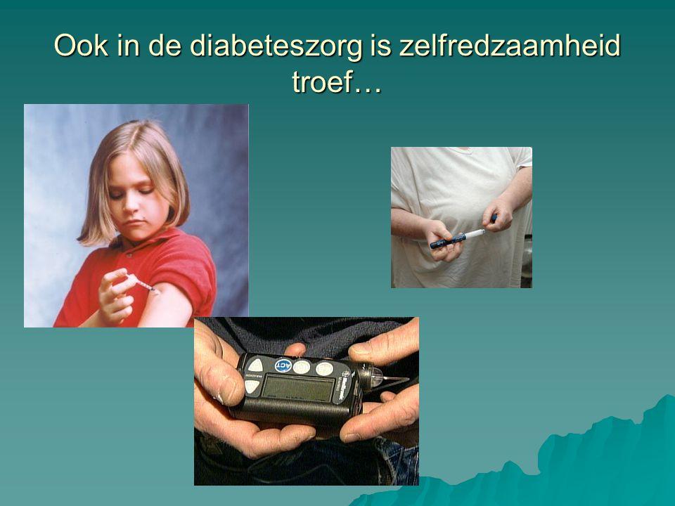 Ook in de diabeteszorg is zelfredzaamheid troef…