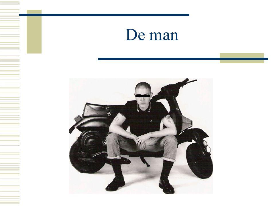 De man