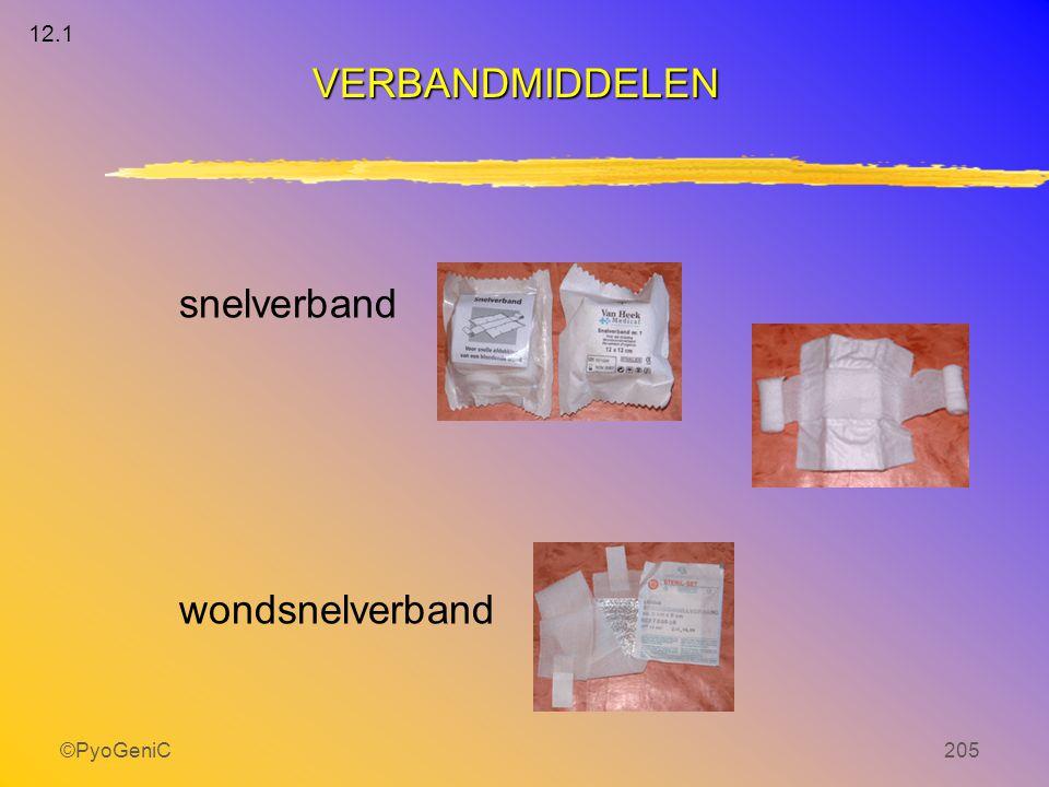 ©PyoGeniC205 snelverband wondsnelverband VERBANDMIDDELEN 12.1